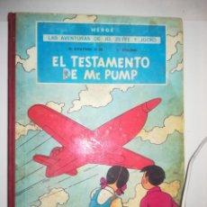 Cómics: LAS AVENTURAS DE JO, ZETTE Y JOCKO EL TESTAMENTO DE MR PUMP (1ª EDICION 1970). Lote 253651060