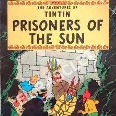 Cómics: LAS AVENTURAS DE TINTIN - PRISONERS OF THE SUN - EDICIONES EL PRADO. Lote 253707750
