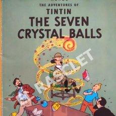 Cómics: LAS AVENTURAS DE TINTIN - THE SEVEN CRYSTAL BALLS - EDICIONES EL PRADO. Lote 253707945