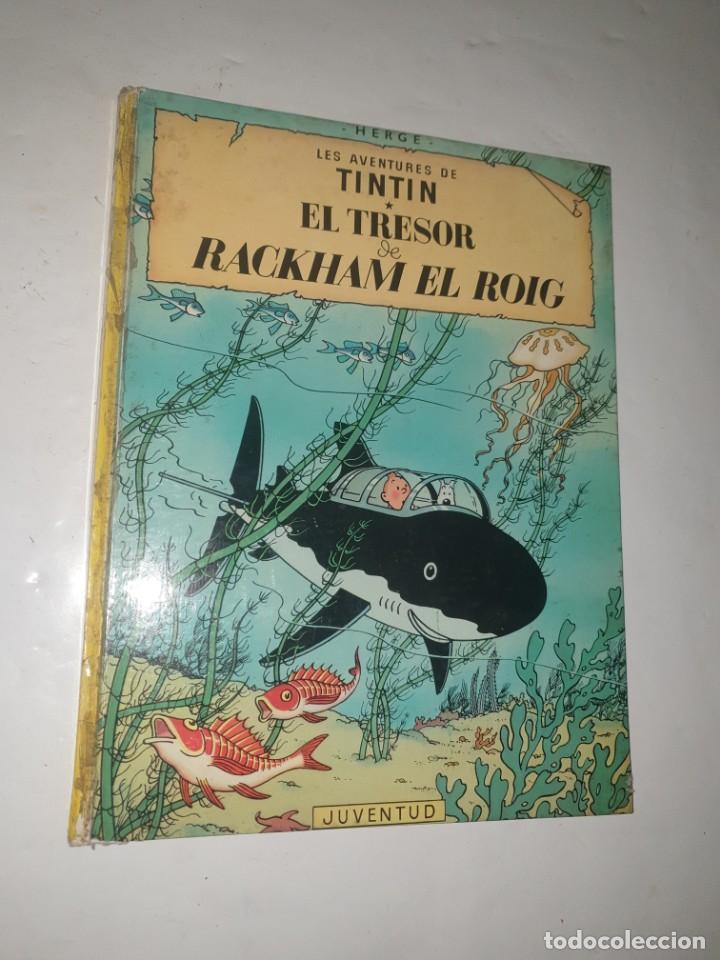TINTIN EL TRESOR DE RACKMAN EL ROIG 1981 (Tebeos y Comics - Juventud - Tintín)