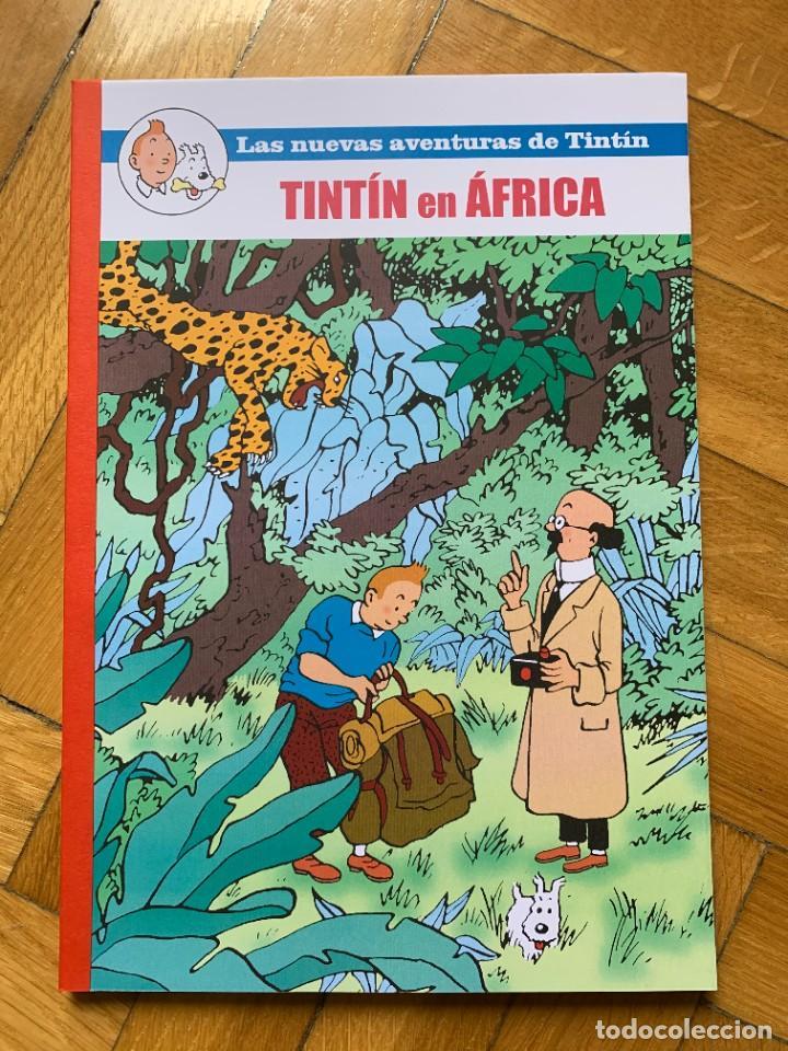 TINTÍN EN ÁFRICA - PASTICHE - IMPOLUTO (Tebeos y Comics - Juventud - Tintín)
