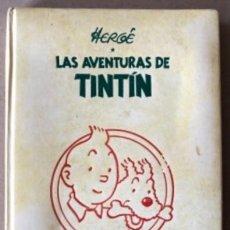 Cómics: LAS AVENTURAS DE TINTÍN, HERGÉ (EDITORIAL JUVENTUD) TOMO 4. 4 OBRAS.. Lote 121627695