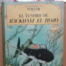 Cómics: LAS AVENTURAS DE TINTIN - EL TESORO DE RACKHAM EL ROJO - 2ª SEGUNDA EDICION - 1964 -HERGE. Lote 254332505