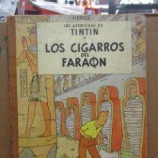 Cómics: LAS AVENTURAS DE TINTIN - LOS CIGARROS DEL FARAON - 2ª SEGUNDA EDICION - 1965 -HERGE. Lote 254333340
