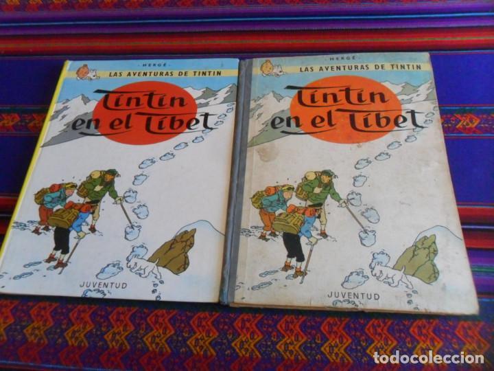 TINTIN EN EL TIBET. JUVENTUD 1965. REGALO TINTIN EN EL TIBET JUVENTUD 14ª DECIMOCUARTA EDICIÓN. (Tebeos y Comics - Juventud - Tintín)