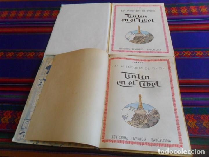 Cómics: TINTIN EN EL TIBET. JUVENTUD 1965. REGALO TINTIN EN EL TIBET JUVENTUD 14ª DECIMOCUARTA EDICIÓN. - Foto 3 - 254346560