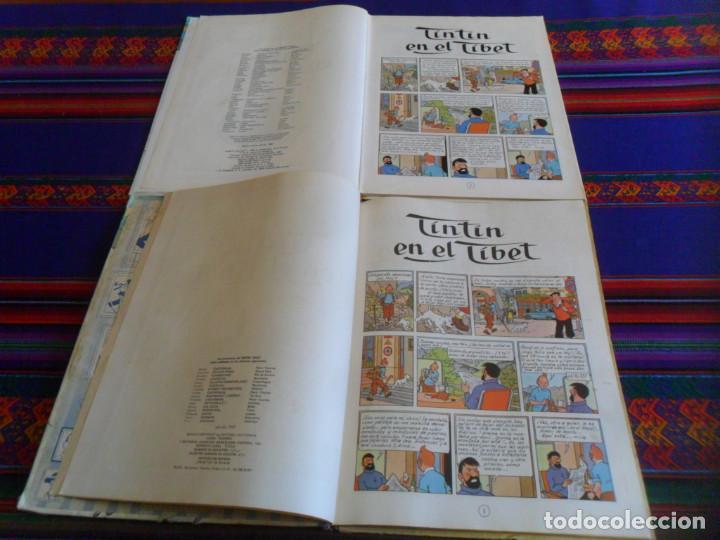 Cómics: TINTIN EN EL TIBET. JUVENTUD 1965. REGALO TINTIN EN EL TIBET JUVENTUD 14ª DECIMOCUARTA EDICIÓN. - Foto 4 - 254346560
