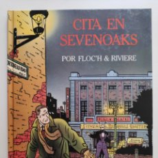 Cómics: CITA EN SEVENOAKS FLOC'H & RIVIERE JUVENTUD 1992. Lote 254714810