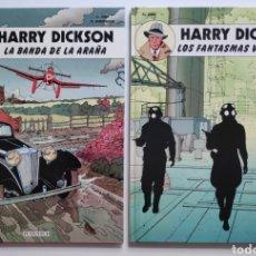 Cómics: HARRY DICKSON LA BANDA DE LA ARAÑA / LOS FANTASMAS VERDUGOS JUVENTUD. Lote 254718385