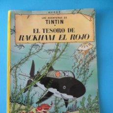 Cómics: LAS AVENTURAS DE TINTIN EL TESORO DE RACKHAM EL ROJO - HERGÉ - JUVENTUD 2003. Lote 255376845