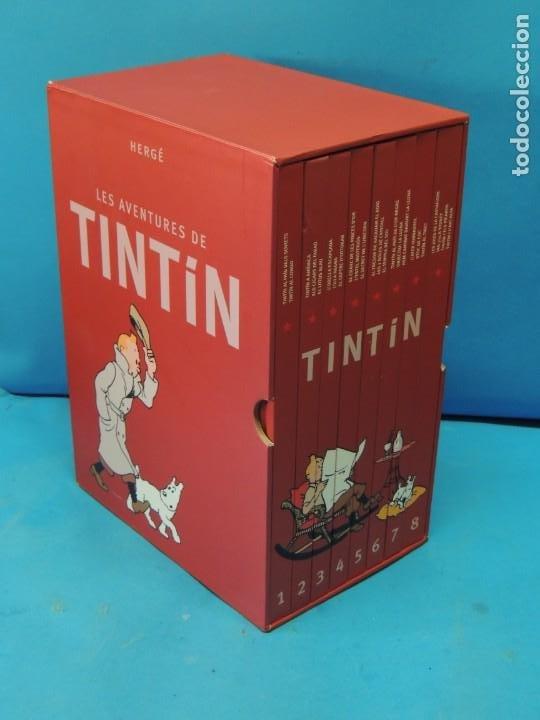 Cómics: LES AVENTURES DE TINTIN. LA COL·LECCIÓ COMPLETA.(8 VOLS.) (CAT). - HERGÉ - Foto 2 - 255519195
