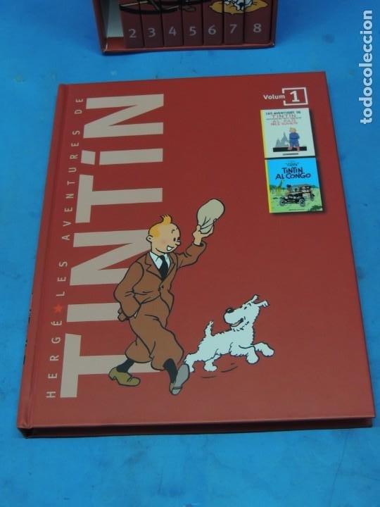 Cómics: LES AVENTURES DE TINTIN. LA COL·LECCIÓ COMPLETA.(8 VOLS.) (CAT). - HERGÉ - Foto 3 - 255519195