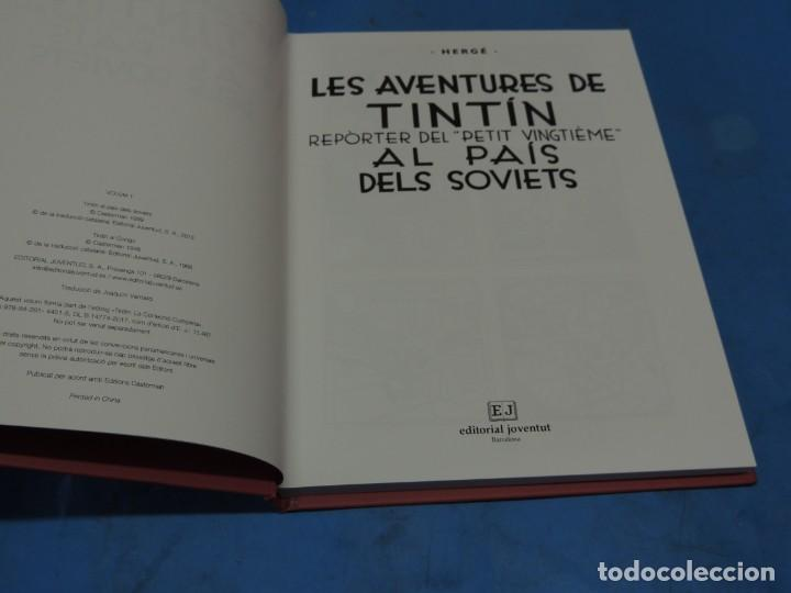 Cómics: LES AVENTURES DE TINTIN. LA COL·LECCIÓ COMPLETA.(8 VOLS.) (CAT). - HERGÉ - Foto 4 - 255519195