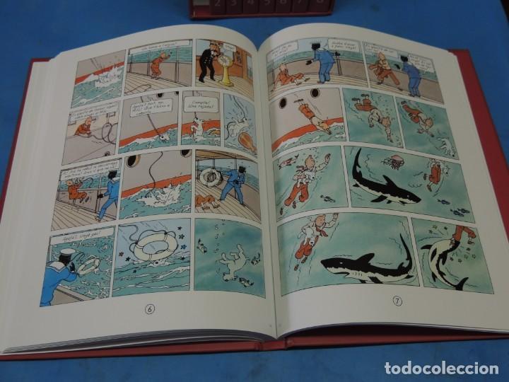 Cómics: LES AVENTURES DE TINTIN. LA COL·LECCIÓ COMPLETA.(8 VOLS.) (CAT). - HERGÉ - Foto 6 - 255519195