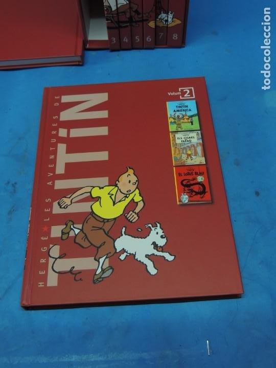 Cómics: LES AVENTURES DE TINTIN. LA COL·LECCIÓ COMPLETA.(8 VOLS.) (CAT). - HERGÉ - Foto 7 - 255519195