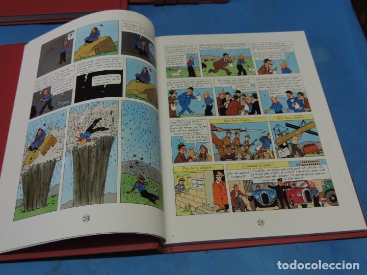 Cómics: LES AVENTURES DE TINTIN. LA COL·LECCIÓ COMPLETA.(8 VOLS.) (CAT). - HERGÉ - Foto 8 - 255519195