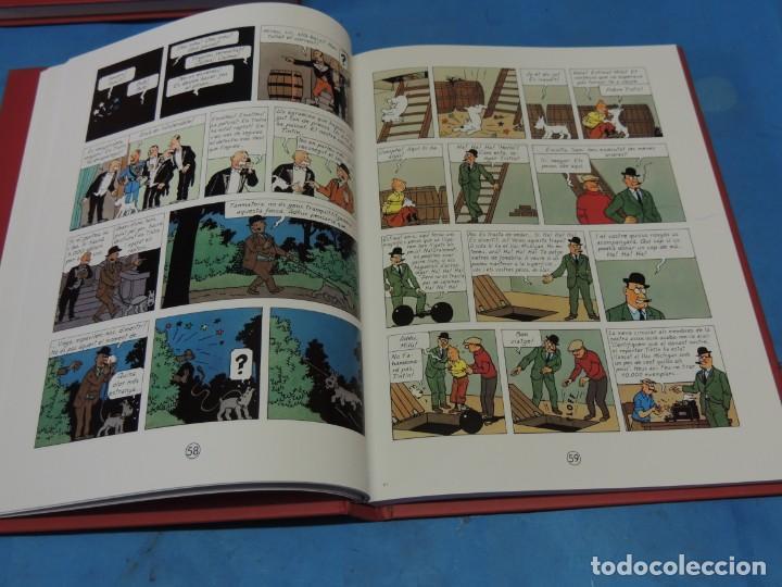 Cómics: LES AVENTURES DE TINTIN. LA COL·LECCIÓ COMPLETA.(8 VOLS.) (CAT). - HERGÉ - Foto 9 - 255519195
