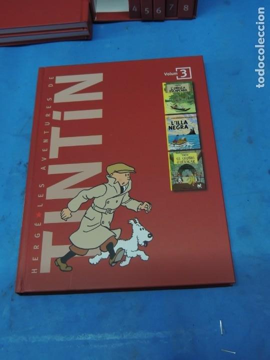 Cómics: LES AVENTURES DE TINTIN. LA COL·LECCIÓ COMPLETA.(8 VOLS.) (CAT). - HERGÉ - Foto 10 - 255519195