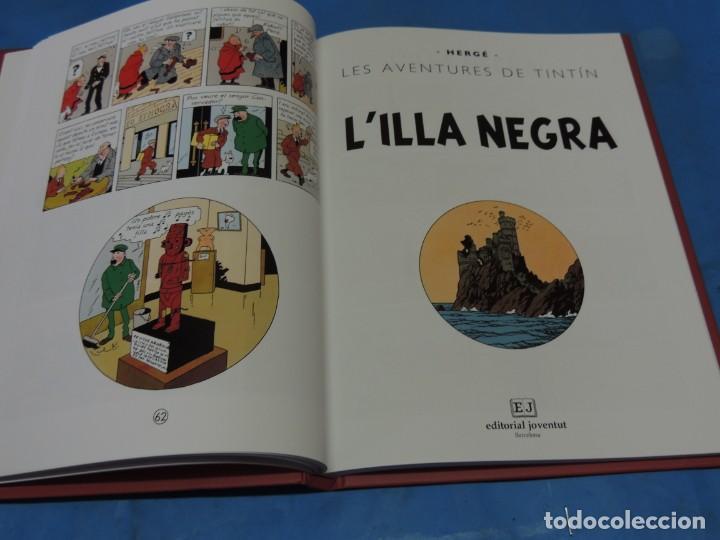 Cómics: LES AVENTURES DE TINTIN. LA COL·LECCIÓ COMPLETA.(8 VOLS.) (CAT). - HERGÉ - Foto 12 - 255519195