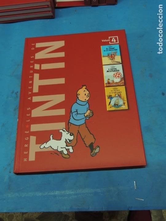 Cómics: LES AVENTURES DE TINTIN. LA COL·LECCIÓ COMPLETA.(8 VOLS.) (CAT). - HERGÉ - Foto 13 - 255519195