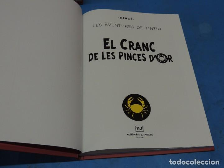 Cómics: LES AVENTURES DE TINTIN. LA COL·LECCIÓ COMPLETA.(8 VOLS.) (CAT). - HERGÉ - Foto 14 - 255519195