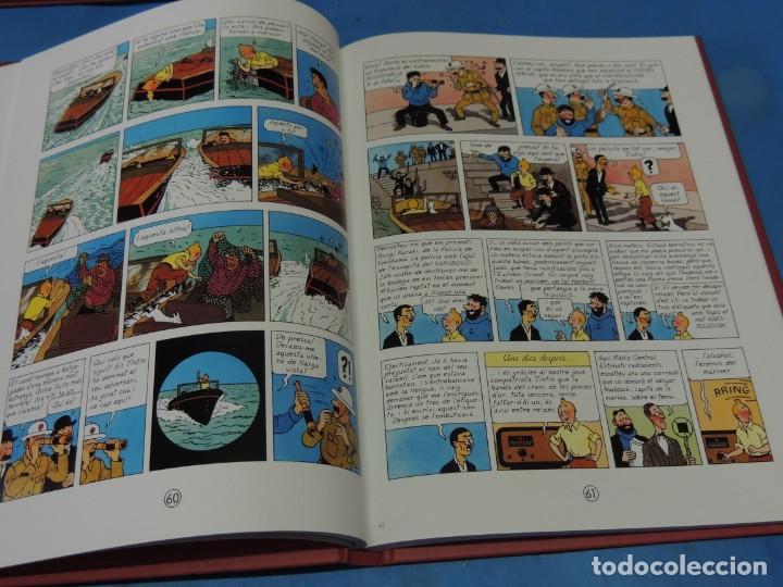 Cómics: LES AVENTURES DE TINTIN. LA COL·LECCIÓ COMPLETA.(8 VOLS.) (CAT). - HERGÉ - Foto 15 - 255519195