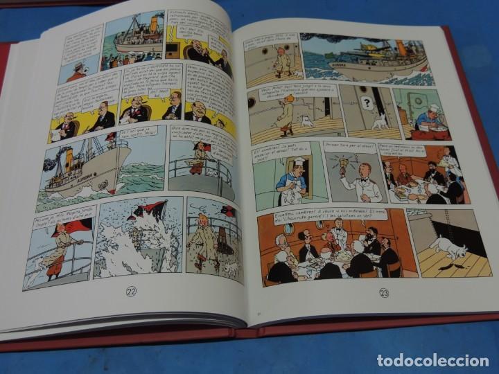 Cómics: LES AVENTURES DE TINTIN. LA COL·LECCIÓ COMPLETA.(8 VOLS.) (CAT). - HERGÉ - Foto 16 - 255519195