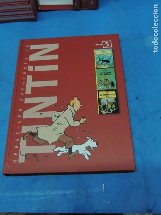 Cómics: LES AVENTURES DE TINTIN. LA COL·LECCIÓ COMPLETA.(8 VOLS.) (CAT). - HERGÉ - Foto 17 - 255519195