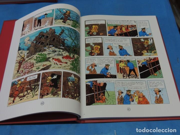 Cómics: LES AVENTURES DE TINTIN. LA COL·LECCIÓ COMPLETA.(8 VOLS.) (CAT). - HERGÉ - Foto 18 - 255519195