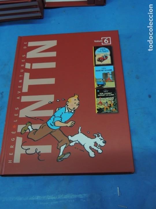 Cómics: LES AVENTURES DE TINTIN. LA COL·LECCIÓ COMPLETA.(8 VOLS.) (CAT). - HERGÉ - Foto 20 - 255519195