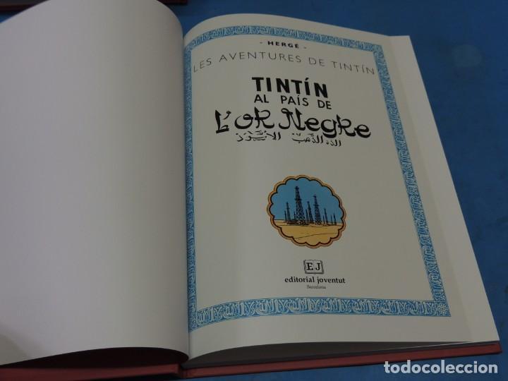 Cómics: LES AVENTURES DE TINTIN. LA COL·LECCIÓ COMPLETA.(8 VOLS.) (CAT). - HERGÉ - Foto 21 - 255519195