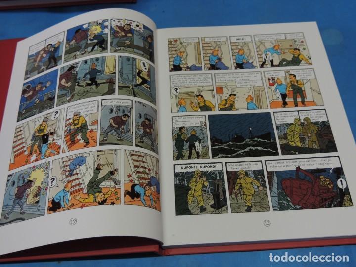 Cómics: LES AVENTURES DE TINTIN. LA COL·LECCIÓ COMPLETA.(8 VOLS.) (CAT). - HERGÉ - Foto 22 - 255519195