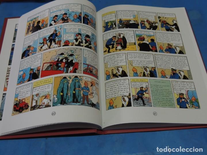 Cómics: LES AVENTURES DE TINTIN. LA COL·LECCIÓ COMPLETA.(8 VOLS.) (CAT). - HERGÉ - Foto 23 - 255519195