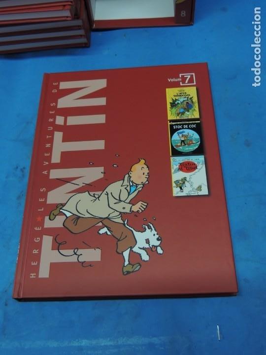 Cómics: LES AVENTURES DE TINTIN. LA COL·LECCIÓ COMPLETA.(8 VOLS.) (CAT). - HERGÉ - Foto 24 - 255519195