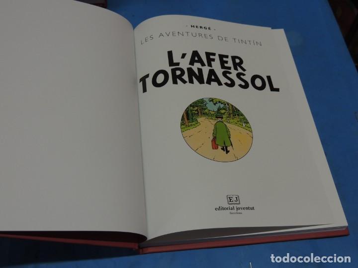 Cómics: LES AVENTURES DE TINTIN. LA COL·LECCIÓ COMPLETA.(8 VOLS.) (CAT). - HERGÉ - Foto 25 - 255519195