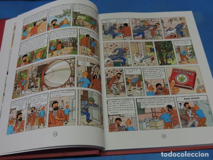 Cómics: LES AVENTURES DE TINTIN. LA COL·LECCIÓ COMPLETA.(8 VOLS.) (CAT). - HERGÉ - Foto 26 - 255519195