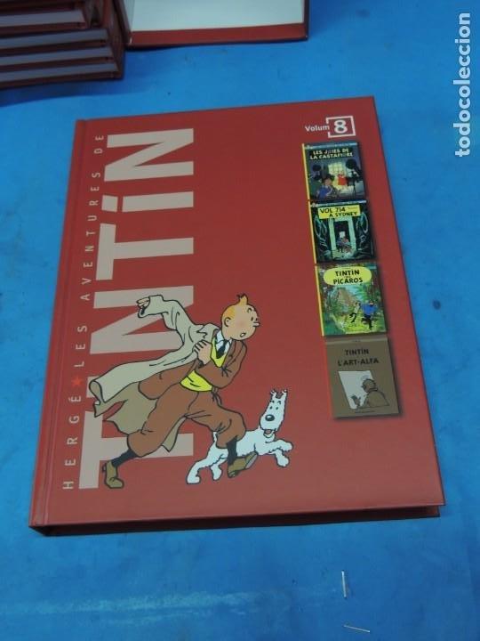 Cómics: LES AVENTURES DE TINTIN. LA COL·LECCIÓ COMPLETA.(8 VOLS.) (CAT). - HERGÉ - Foto 28 - 255519195