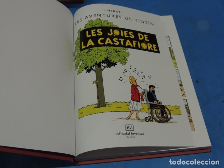 Cómics: LES AVENTURES DE TINTIN. LA COL·LECCIÓ COMPLETA.(8 VOLS.) (CAT). - HERGÉ - Foto 29 - 255519195
