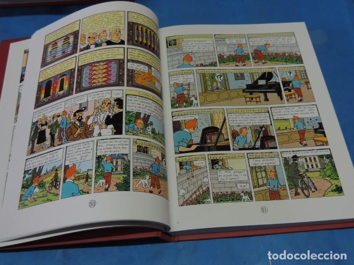 Cómics: LES AVENTURES DE TINTIN. LA COL·LECCIÓ COMPLETA.(8 VOLS.) (CAT). - HERGÉ - Foto 30 - 255519195