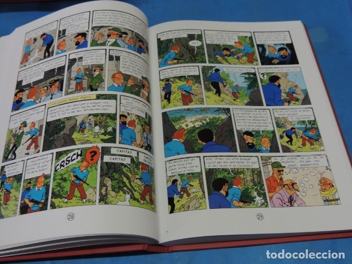 Cómics: LES AVENTURES DE TINTIN. LA COL·LECCIÓ COMPLETA.(8 VOLS.) (CAT). - HERGÉ - Foto 31 - 255519195
