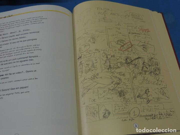 Cómics: LES AVENTURES DE TINTIN. LA COL·LECCIÓ COMPLETA.(8 VOLS.) (CAT). - HERGÉ - Foto 33 - 255519195