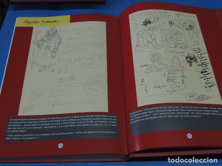 Cómics: LES AVENTURES DE TINTIN. LA COL·LECCIÓ COMPLETA.(8 VOLS.) (CAT). - HERGÉ - Foto 39 - 255519195