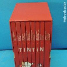 Cómics: LES AVENTURES DE TINTIN. LA COL·LECCIÓ COMPLETA.(8 VOLS.) (CAT). - HERGÉ. Lote 255519195