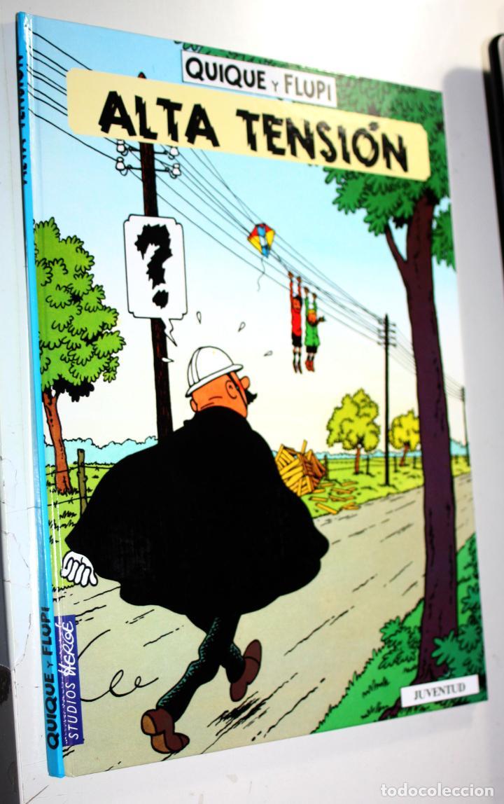 QUIQUE Y FLUPI ( ESTUDIO HERGË) :ALTA TENSION (Tebeos y Comics - Juventud - Yoko Tsuno)