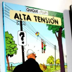 Cómics: QUIQUE Y FLUPI ( ESTUDIO HERGË) :ALTA TENSION. Lote 255534810