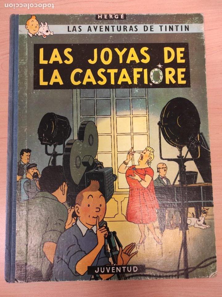 TINTIN. LAS JOYAS DE LA CASTAFIORE. PRIMERA EDICION 1964 (Tebeos y Comics - Juventud - Tintín)
