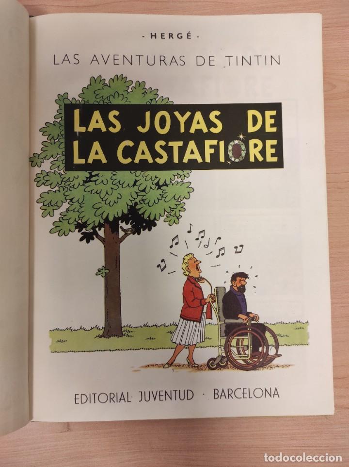 Cómics: TINTIN. LAS JOYAS DE LA CASTAFIORE. PRIMERA EDICION 1964 - Foto 3 - 256009260