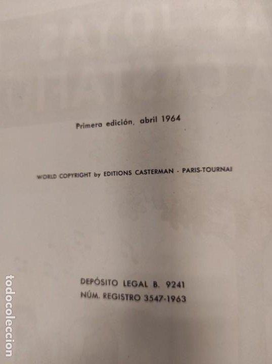 Cómics: TINTIN. LAS JOYAS DE LA CASTAFIORE. PRIMERA EDICION 1964 - Foto 4 - 256009260