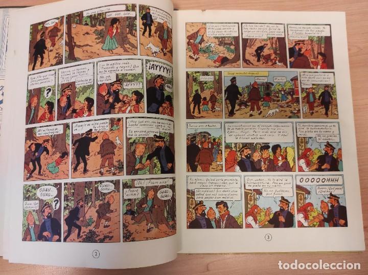 Cómics: TINTIN. LAS JOYAS DE LA CASTAFIORE. PRIMERA EDICION 1964 - Foto 5 - 256009260