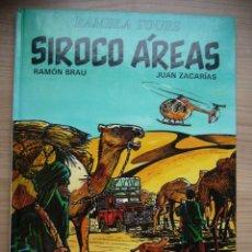 Cómics: SIROCO ÁREAS DE EDITORIAL JUVENTUD RAMÓN BRAU JUAN ZACARÍAS 1993. Lote 256035965